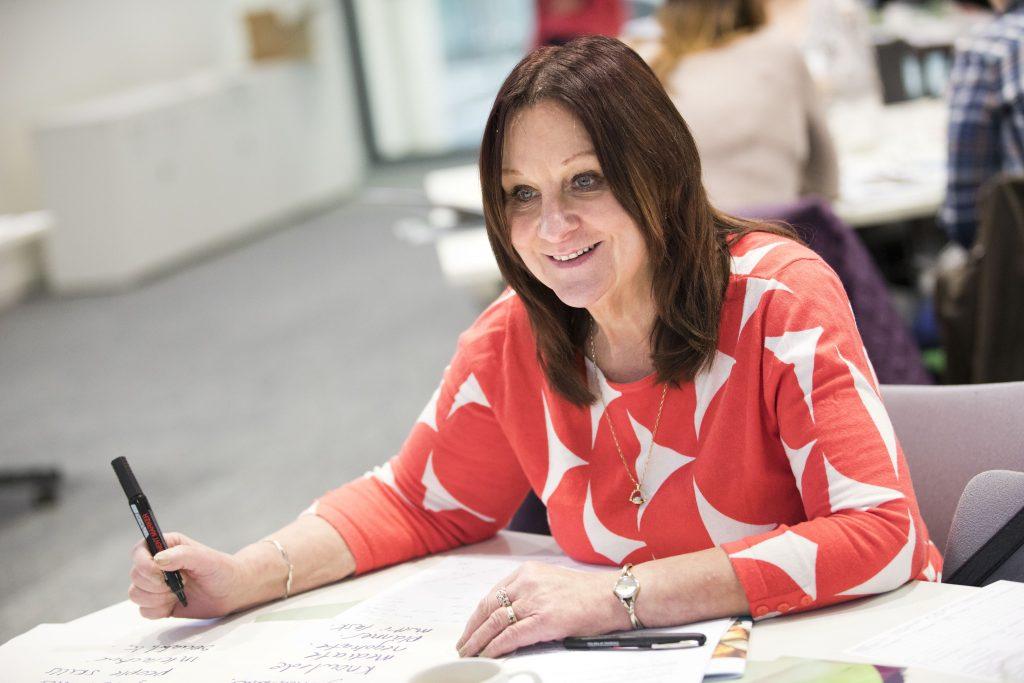 Carol McGrath UNISON ULR event - Learning in a Changing World. UNISON HQ, London. © Jess Hurd/reportdigital.co.uk
