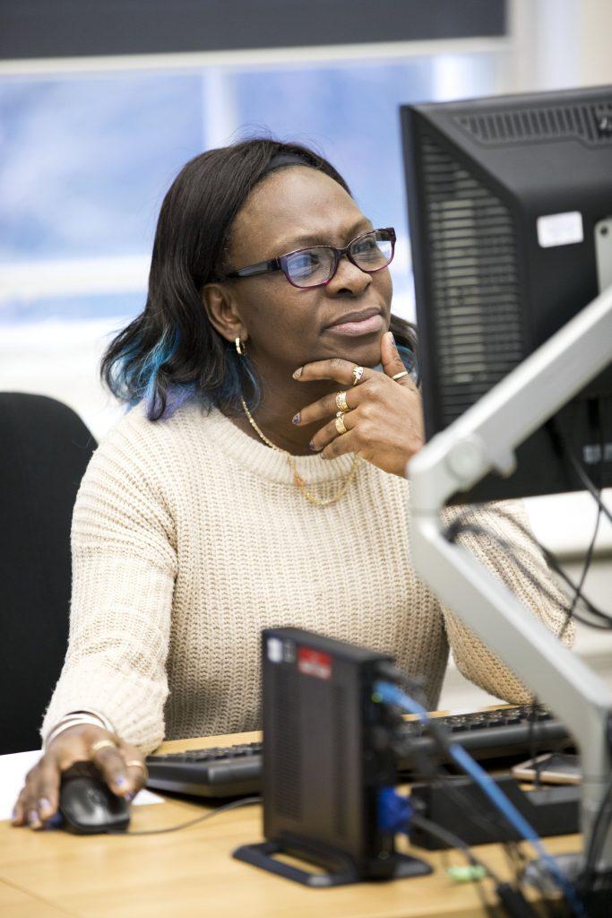 IT learning © Jess Hurd/reportdigital.co.uk