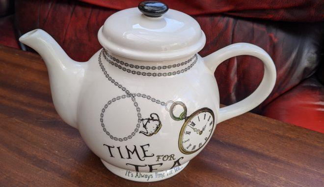 a teapot